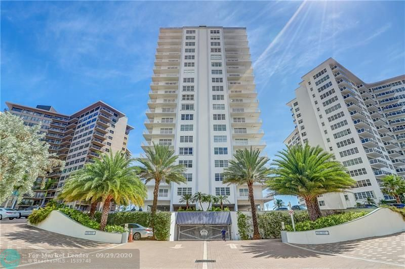 Photo of 3750 Galt Ocean Dr #610, Fort Lauderdale, FL 33308 (MLS # F10250065)