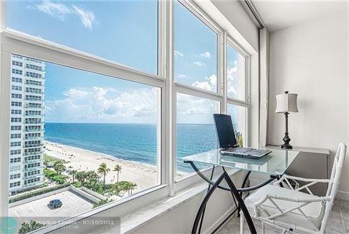Photo of 3500 Galt Ocean Dr #816, Fort Lauderdale, FL 33308 (MLS # F10292066)
