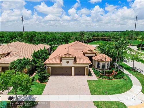 Photo of 9161 Edgewater Bnd, Parkland, FL 33076 (MLS # F10288067)