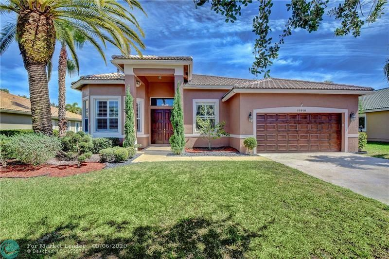10918 NW 56th Ct, Coral Springs, FL 33076 - #: F10226068