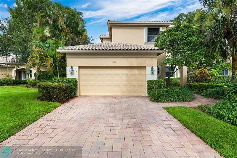 2486 Bay Isle Dr, Weston, FL 33327 - #: F10295071