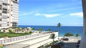 Photo of 4250 Galt Ocean Dr #4C, Fort Lauderdale, FL 33308 (MLS # F10135072)