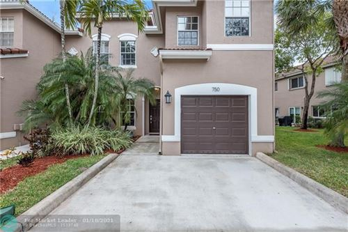 Photo of 750 NW 132nd Ter #5, Plantation, FL 33325 (MLS # F10267072)