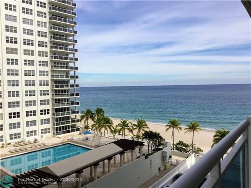 Photo of 3430 Galt Ocean Dr #703, Fort Lauderdale, FL 33308 (MLS # F10206074)