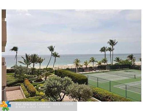 Photo of 4900 N Ocean Blvd #503, Lauderdale By The Sea, FL 33308 (MLS # F10217074)