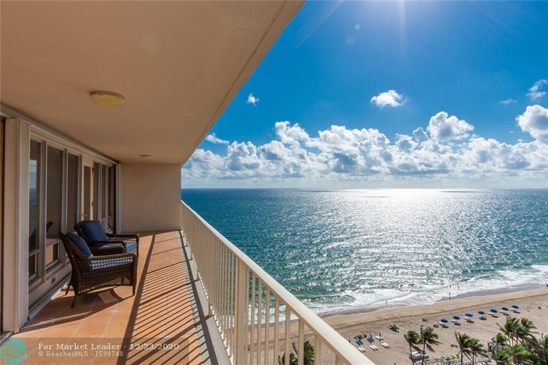 Photo of 4100 Galt Ocean Dr #1608, Fort Lauderdale, FL 33308 (MLS # F10203077)