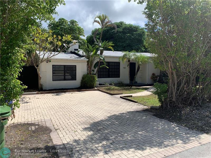 Photo of 738 NE 16th Ave, Fort Lauderdale, FL 33304 (MLS # F10302078)