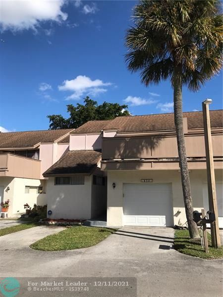 834 NW 81st Way #8, Plantation, FL 33324 - MLS#: F10277079