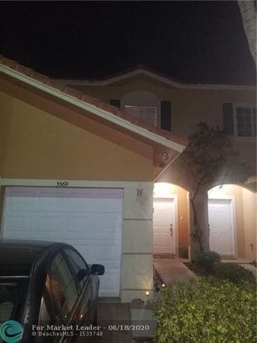 Photo of Listing MLS f10224081 in 5569 Monte Carlo Pl #5569 Margate FL 33068