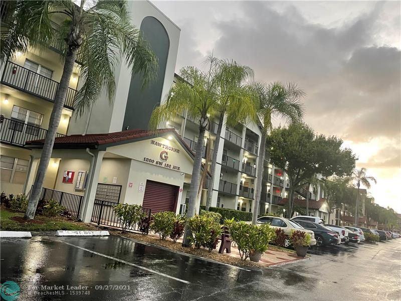 Photo of 1200 SW 130th Ave #101G, Pembroke Pines, FL 33027 (MLS # F10302082)