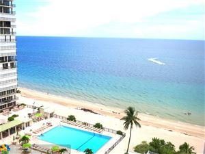 Photo of 4250 Galt Ocean Dr #14J, Fort Lauderdale, FL 33308 (MLS # F10189084)