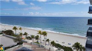 Photo of 3500 Galt Ocean Dr #616, Fort Lauderdale, FL 33308 (MLS # F10109085)