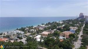 Photo of 3100 N Ocean Blvd #1604, Fort Lauderdale, FL 33308 (MLS # F10145085)