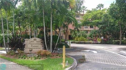 Photo of 7451 NW 16th St #402B, Plantation, FL 33313 (MLS # F10302086)