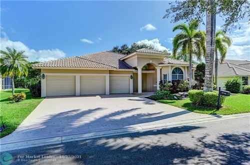 Photo of 1715 Eagle Trace Blvd W, Coral Springs, FL 33071 (MLS # F10305088)