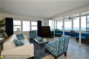 Photo of 4040 Galt Ocean Dr #818, Fort Lauderdale, FL 33308 (MLS # F10185089)