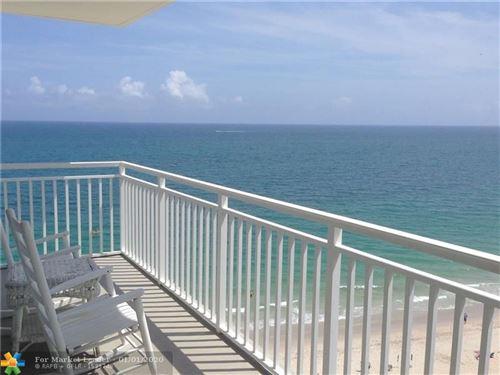 Photo of 3750 Galt Ocean Dr #1101, Fort Lauderdale, FL 33308 (MLS # F10209089)