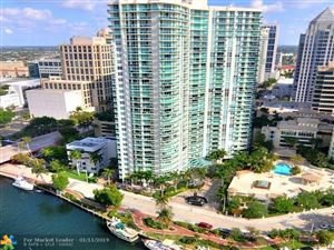 Photo of 347 N New River Dr E #1801, Fort Lauderdale, FL 33301 (MLS # F10145092)