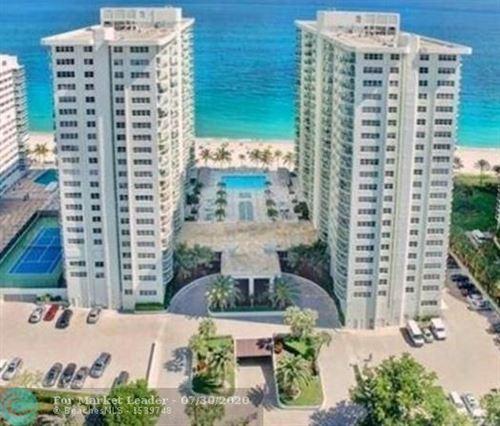 Photo of 3410 Galt Ocean Dr #1001N, Fort Lauderdale, FL 33308 (MLS # F10240092)