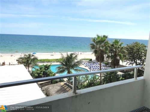 Photo of 4040 Galt Ocean Dr #312, Fort Lauderdale, FL 33308 (MLS # F10200094)