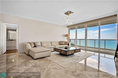 Photo of 6051 N Ocean Dr #807, Hollywood, FL 33019 (MLS # F10284094)