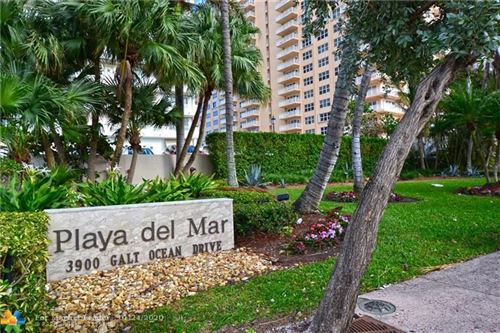 Photo of 3900 Galt Ocean Dr #316, Fort Lauderdale, FL 33308 (MLS # F10212098)