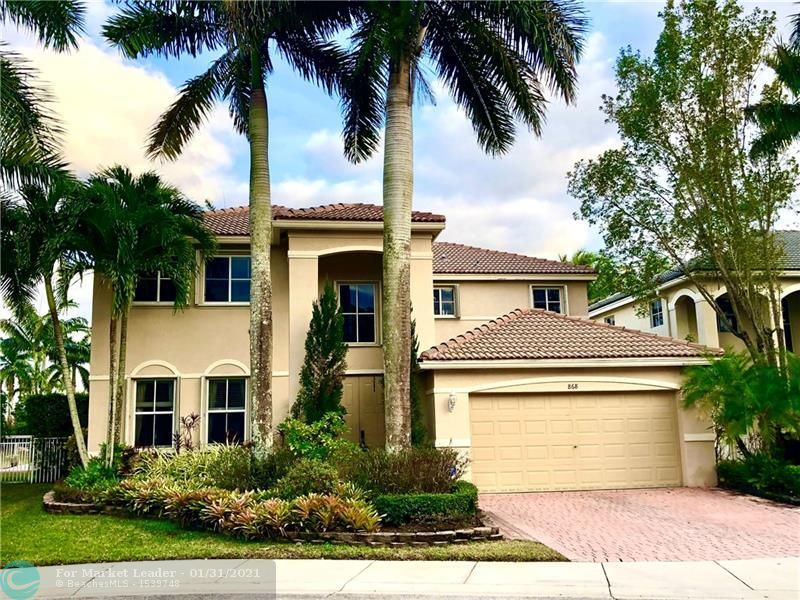 868 Sunflower Cir, Weston, FL 33327 - #: F10268099