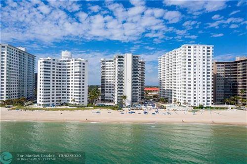 Photo of 3700 Galt Ocean Dr #706, Fort Lauderdale, FL 33308 (MLS # F10261101)