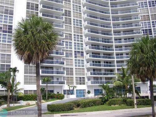 Photo of 2841 N Ocean Blvd #1009, Fort Lauderdale, FL 33308 (MLS # F10294102)