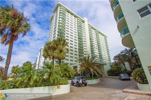 Tiny photo for 3410 GALT OCEAN DR #1209N, Fort Lauderdale, FL 33308 (MLS # F10209103)