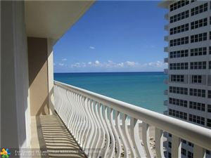 Photo of 4020 Galt Ocean Dr #1010, Fort Lauderdale, FL 33308 (MLS # F10120105)
