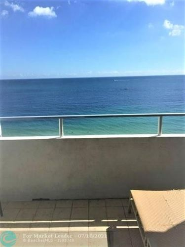 Photo of 4040 Galt Ocean Dr #804, Fort Lauderdale, FL 33308 (MLS # F10293105)