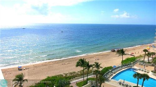 Photo of 4250 Galt Ocean Dr #9S, Fort Lauderdale, FL 33308 (MLS # F10226106)