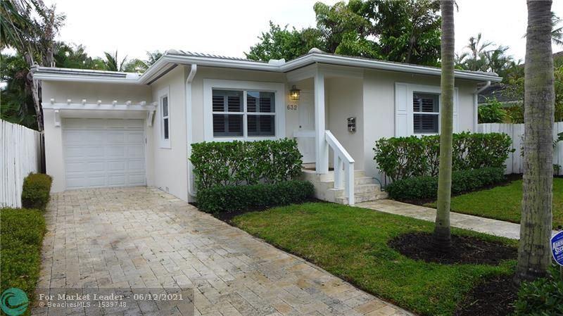 Photo of 632 NE 9th Ave, Fort Lauderdale, FL 33304 (MLS # F10287106)