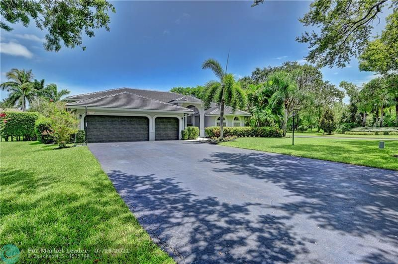 Photo of 10201 NW 62ND DRIVE, Parkland, FL 33076 (MLS # F10293106)