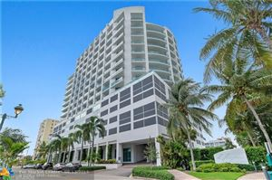 Tiny photo for 3333 NE 32nd Ave #1105, Fort Lauderdale, FL 33308 (MLS # F10180107)