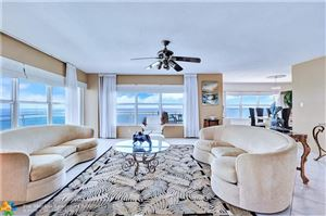 Photo of 3900 Galt Ocean Dr #917, Fort Lauderdale, FL 33308 (MLS # F10196115)