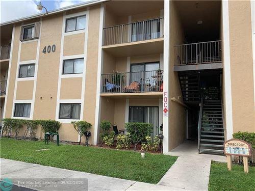 Photo of 400 Palm Cir #107, Pembroke Pines, FL 33025 (MLS # F10247115)