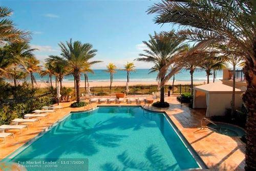 Photo of 4445 El Mar Dr #2311, Lauderdale By The Sea, FL 33308 (MLS # F10259115)