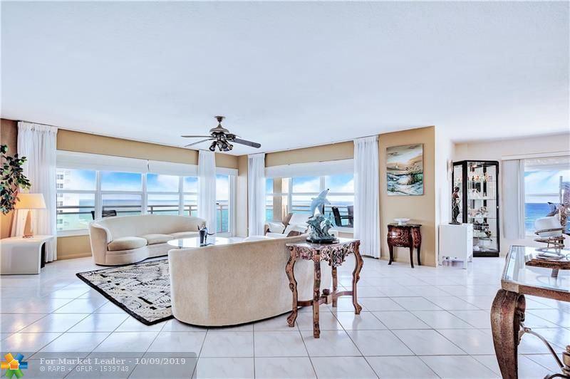 Photo of 3900 Galt Ocean Dr #917, Fort Lauderdale, FL 33308 (MLS # F10196115)