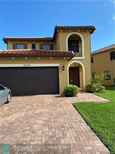 Photo of 5104 NW 47th St, Tamarac, FL 33319 (MLS # F10242117)