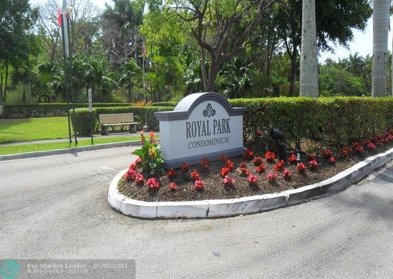 Photo of 110 Royal Park Dr #1C, Oakland Park, FL 33309 (MLS # F10294117)