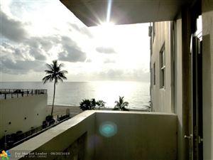 Photo of 4250 Galt Ocean Dr #3R, Fort Lauderdale, FL 33308 (MLS # F10141118)