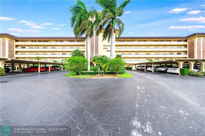 4100 Crystal Lake Dr #205, Deerfield Beach, FL 33064 - MLS#: F10258119