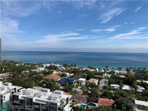 Photo of 3015 N Ocean Blvd #16E, Fort Lauderdale, FL 33308 (MLS # F10288120)