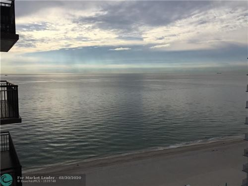 Photo of 3800 Galt Ocean Dr #1508, Fort Lauderdale, FL 33308 (MLS # F10222123)