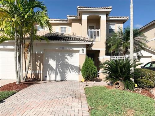 Photo of 2260 NW 170th Ave #2260, Pembroke Pines, FL 33028 (MLS # F10248123)
