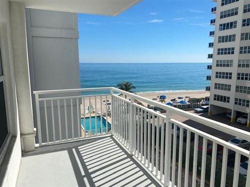 Photo of 3750 Galt Ocean Dr #504, Fort Lauderdale, FL 33308 (MLS # F10267123)