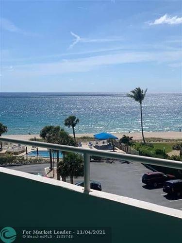 Photo of 4050 N Ocean #505, Lauderdale By The Sea, FL 33308 (MLS # F10286125)