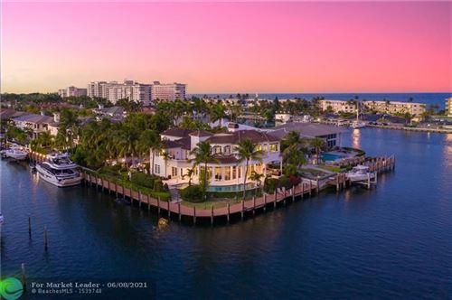 Photo of 3711 NE 31 Avenue, Lighthouse Point, FL 33064 (MLS # F10288125)